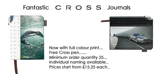 Cross Journals with free pen